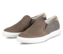 Slip-on-Sneaker - KHAKI/ GRAU