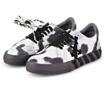 Sneaker - WEISS/ DUNKELGRAU
