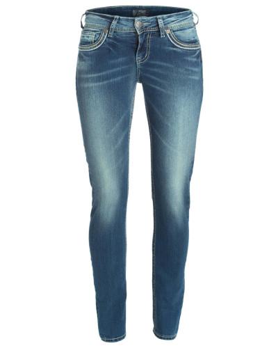 silver jeans damen jeans suki mid pencil skinny 53 reduziert. Black Bedroom Furniture Sets. Home Design Ideas
