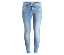 Skinny-Jeans PIXIE - light used blue