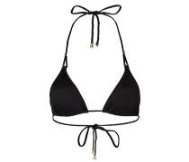 Triangel-Bikini-Top SUN MUSE - schwarz