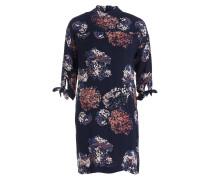 Kleid FLEUR - marine/ ecru/ blau