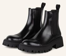 Chelsea-Boots TRACTOR BOOTIE - SCHWARZ
