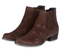 Chelsea-Boots KELLY - dunkelbraun
