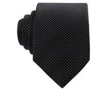 Krawatte - schwarz / silber