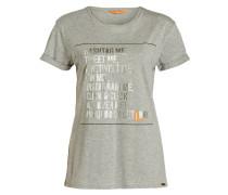 T-Shirt TAFUNNY - grau meliert