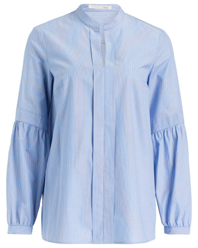 Bluse - hellblau/ blau/ weiss gestreift