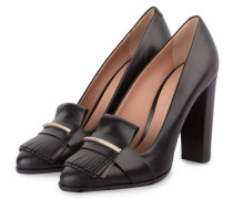 College-Pumps BUCKLE - schwarz