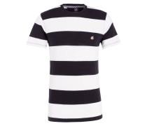 Strick-Shirt - schwarz/ weiss