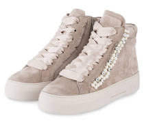 Hightop-Sneaker BIG mit Perlenbesatz