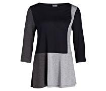 Shirt CELIA - navy/ grau meliert