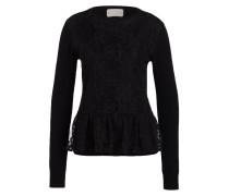 Cashmere-Pullover - schwarz