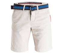 Chino-Shorts - grau