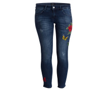 Jeans - blue denim stretch