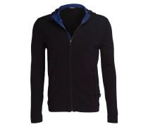 Strickjacke - schwarz/ blau