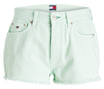 Jeans-Shorts - gelb