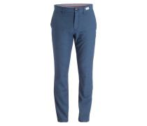 Chino C-DENTON Straight-Fit - blau