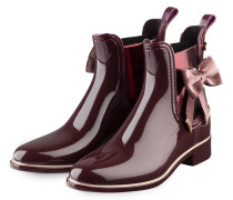Gummi-Boots GINGER - bordeaux