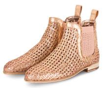 Chelsea-Boots SUSAN - ROSÉ/ GOLD