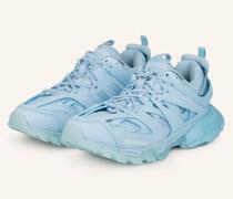 Plateau-Sneaker TRACK - HELLBLAU