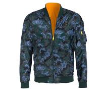 Wendeblouson im Camouflage-Stil - oliv