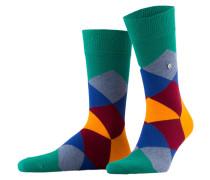 Socken CLYDE - 7230 emerald