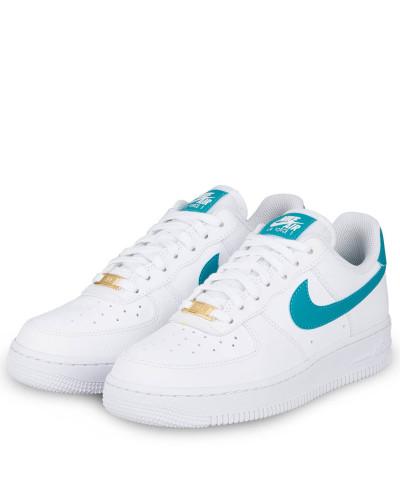 Sneaker AIR FORCE 1 '07 - WEISS/ TÜRKIS