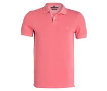 Piqué-Poloshirt Shaped-Fit - rosa