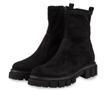 Plateau-Boots - SCHWARZ