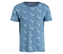 T-Shirt DRAGON - blau
