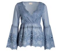 Tunikabluse - blau