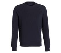 Sweatshirt mit monochromem Logoprint