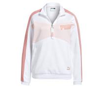 Sweatshirt ARCHIVE T7 - weiss/ rosa