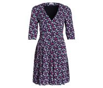 Kleid REINE BIS - dunkelblau/ pink