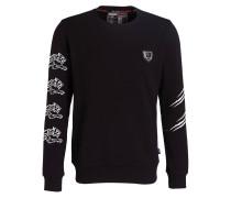 Sweatshirt RESPECT - schwarz/ weiss