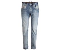 Jeans RAPIQ Straight-Fit - blau