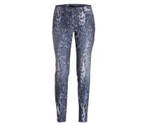 Skinny-Jeans - dunkelblau/ blau