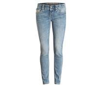 Skinny-Jeans BECKI - blau