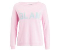 Pullover mit Cashmere-Anteil - rosa