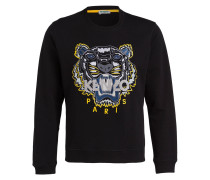 Sweatshirt - schwarz/ gelb