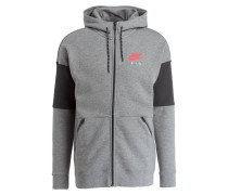 Sweatjacke AIR - grau/ dunkelgrau