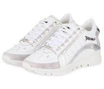 Sneaker 551 - weiss/ silber
