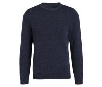 Pullover - navy meliert