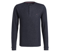 Henley-Shirt CARSON - blaugrau