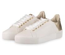 Plateau-Sneaker BLADE - WEISS/ GOLD