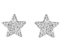 Ohrringe STAR - silber