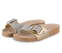 Sandalen MADRID - sand/ navy