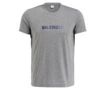 T-Shirt SILENZIO - grau meliert