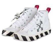 Hightop-Sneaker VULCANIZED - WEISS/ GRAU