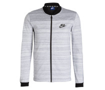 Sweatjacke ADVANCED 15 - grau meliert